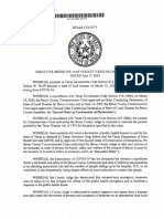 Bexar County Executive Order NW-10