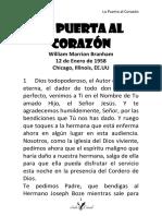 58-0112N LA PUERTA AL CORAZÓN