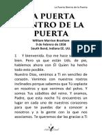 58-0209T LA PUERTA DENTRO DE LA PUERTA HUB