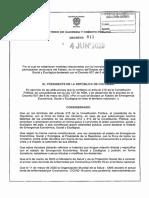 Decreto 811 Del 4 de Junio de 2020