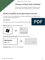 Apple-Tastatur in Windows mit Boot Camp verwenden - Apple Support