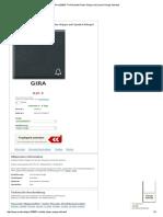 Gira 028667 TX44 Schalter_Taster Wippe mit Symbol Klingel anthrazit
