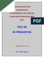 TEST DE 45 PREGUNTAS