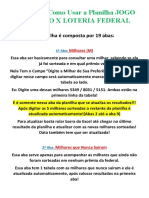 Manual de Como Usar a Planilha JOGO DO BICHO X LOTERIA FEDERAL.docx