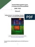 Manual Entrenamiento Metacognitivo TLP Espanol