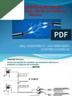 CLASE 6. MONTANTES, UNIFILAR, CALCULO DE CONDUCTOR ELECTRICO