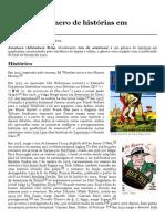 Aventura (Gênero de Histórias Em Quadrinhos) – Wikipédia, A Enciclopédia Livre
