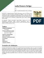 Banda Desenhada Franco-belga – Wikipédia, A Enciclopédia Livre