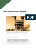 Analiza Comparativa Intre Euro 5 Si 6 – AutoTehnica