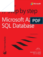 Azure Sql Database Step By Step
