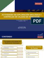 Actividades de Exploración Geológica y Control de Calidad en Minera Yanacocha - Ing Jhennyfer Spelucin & Ing Yacory Bustamante.pptx