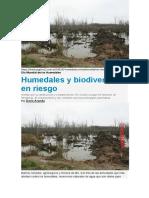 12-Humedales y biodiversidad en riesgo