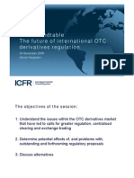 ICFR Roundtable - The Future of International OTC Derivatives Regulation