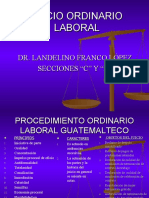 Diapositiva Procesal laboral-landelino