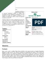 Editora Abril – Wikipédia, A Enciclopédia Livre