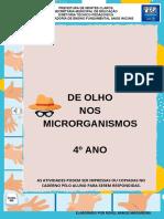 De olho nos microrganismos