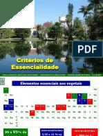 4. CRITÉRIOS DE ESSENCIALIDADE 27-3 A 31-3-2017