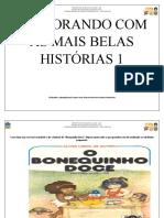 INTERAGINDO COM A HISTÓRIA BONEQUINHO DOCE