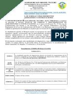 06A MANUAL DE NORMAS Y PROCEDIMIENTOS DE ADQUSICIONES Y CONTRATACIONES
