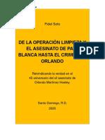 VERSION LECTURA DIGITAL -DE LA OPERACIÓN LIMPIEZA Y EL ASESINATO DE PATA BLANCA HASTA EL CRIMEN DE ORLANDO