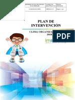 PLAN DE INTERVENCION DE CLIMA ORGANIZACIONAL 2019-2020 formato actualizado - copia.docx
