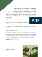 quimica jabon