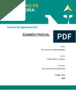 0.EXAMEN PARCIAL ESTRUCTURAS Y CARGAS