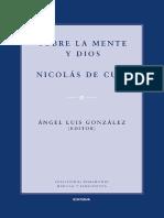 De Cusa, Nicolás. Sobre la mente y Dios.pdf