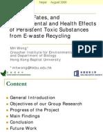 Microsoft Power Point - Environmental Impact of Ewaste