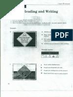 Pet Reading & Writing Practice Test 2