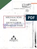 Mediacion para Resolver Conflictos - Highton y Álvarez 2004.pdf