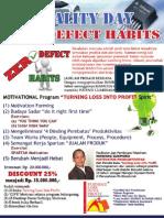 Zero Defect Habits QUALITY DAY