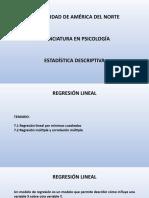 Estadística Descriptiva Unidad 7
