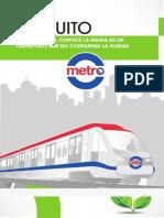 brochure metro de quito