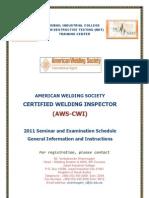AWS-CWI Brochure 2011