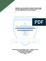 GRADO DE ADHERENCIA A LA GUIA PRÁCTICA CLÍNICA DE INFECCIONES DE VIAS URINARIAS NO COMPLICADAS EN