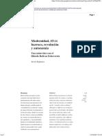 Modernidad, ethos barroco, revolución y autonomía.pdf