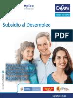6.2.1 Informacion Seguro de Desempleo Cafam