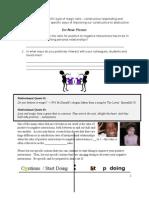 PD Session - Constructive vs. Destructive Responding - Levin