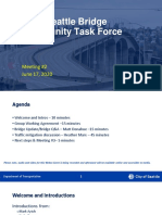 West Seattle Bridge Community Task Force slides