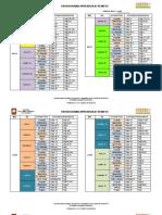 Cronograma Aprendizaje Remoto