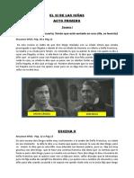 RESUMEN EL SI DE LAS NIÑAS DE LEANDRO FERNANDEZ DE MORATIN
