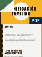 capacitacion planificacion familiar