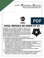 GUÍA REPASO DE SERIE CF #2