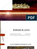 Lecture - 2 -  Regenerative Gas Turbine P. Plants