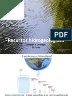 Recursos hidrogeológicos