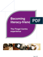 Becoming Literacy Friendly - The Fingal Centre Experience