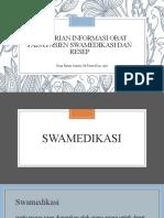 04.Pemberian Informasi Obat pada pasien swamedikasi dan resep