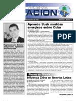 Boletin oficial del Partido Nacionalista Democratico de Cuba, Número 1; Año 1