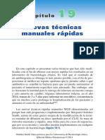 Nuevas técnicas manuales rápidas. Guías prácticas para laboratorios de bacteriología clínica